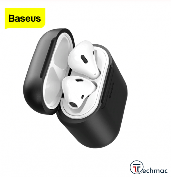 Baseus Anti-Dust Wireless Charger Silicone Protective Case For Apple AirPods Price In Pakistan