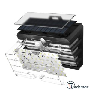 Baseus Solar Energy Body Induction Wide Angle Wall Lamp Price In Pakistan
