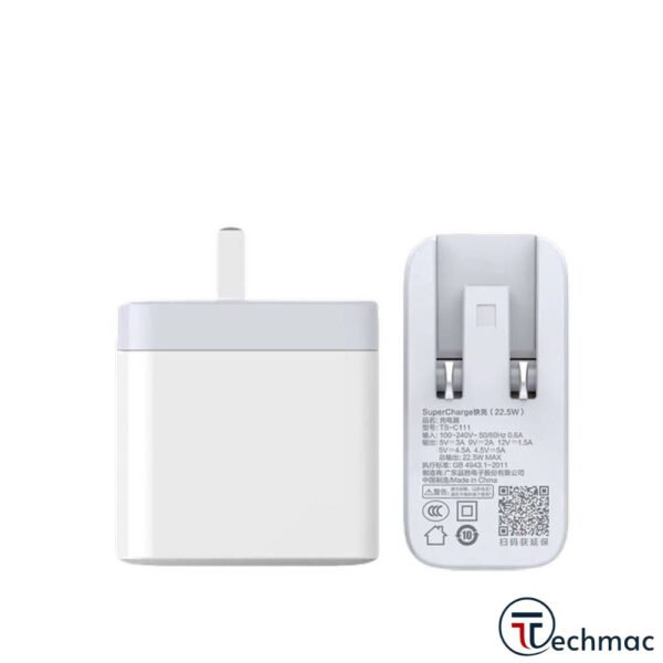 PISEN TS-C111 Super Charge USB Wall Charger 22.5W+QC3.0 Price In Pakistan